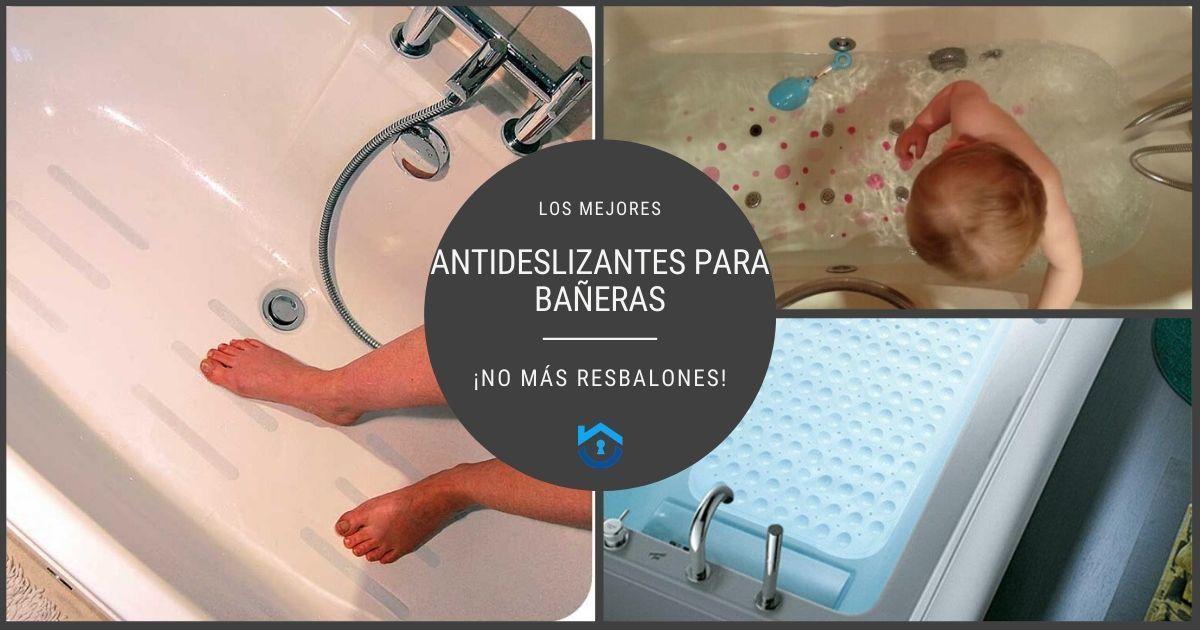 Los mejores antideslizantes para bañera