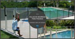 4 vallas de seguridas para piscinas óptimas
